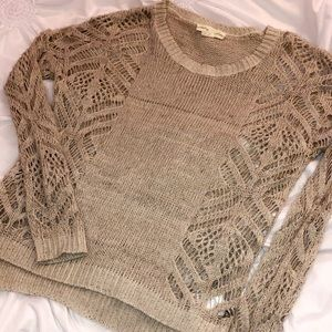 Staring at Stars Urban Outfitters Taupe Sweater